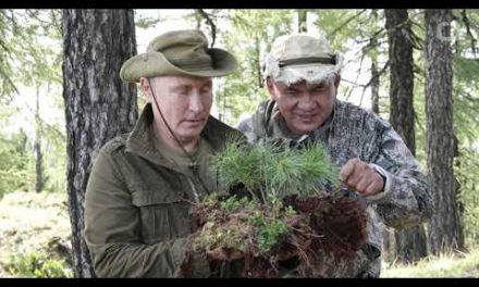 Kremlin Releases Photos Of Putin ' s Siberia Vacations