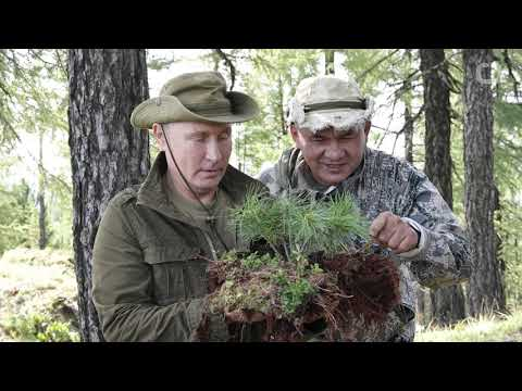 Kremlin Releases Photos Of Putin ' s Siberia Vacations