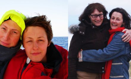 This Lesbian Couple Sailed Oceans To Be Together. Their Epic Journey Is Far From Over.