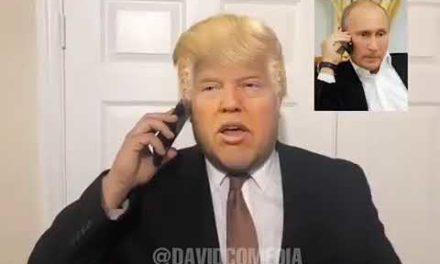 Donald Trump y Vladimir Putin hablan sobre venezuela