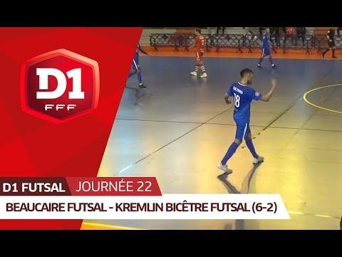 J22: Beaucaire Futsal – Kremlin Bic être Futsal (6-2)