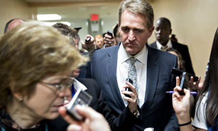 Flake Says Trump's Fake News Claims as Damaging as Stalin's Were