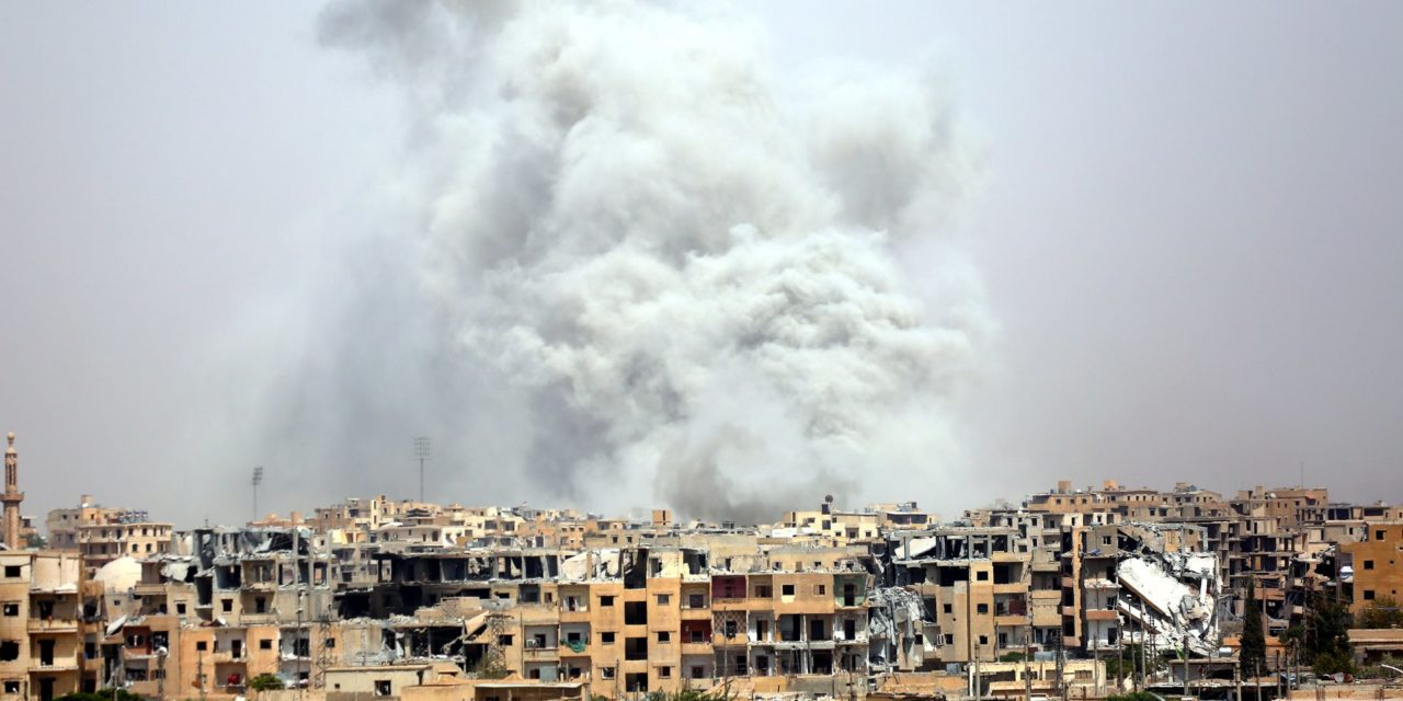 Amnesty, Watchdog Group: U.S.-LedAlliance Killed 1,600Civilians In Raqqa