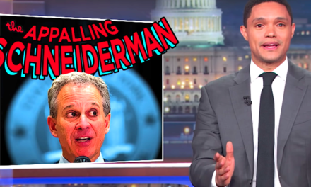 Trevor Noah Unloads On Supposed 'AdvocateFor Women' Eric Schneiderman