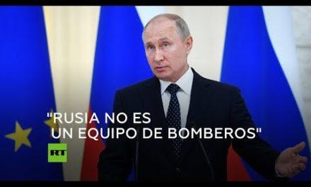 Putin habla sobre el futuro del acuerdo nuclear iraní