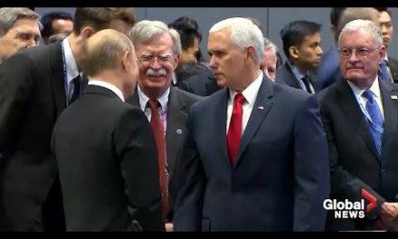 Encontro de Figur ões: Mike Pence e Vladimir Putin