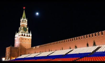 Red Square absolute Kremlin adit Moscow, Russia (April 20, 2019)