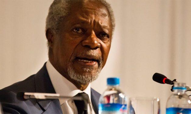 Kofi Annan, previous UN secretary-general, dead at 80