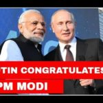 Putin congratulates Modi on his celebration ' s enormous lead in LS political elections