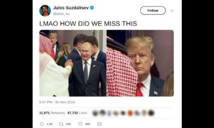 Viral tweet of Trump's response to the Mohammad container Salman-Putinbrother handshake is not all that it appears
