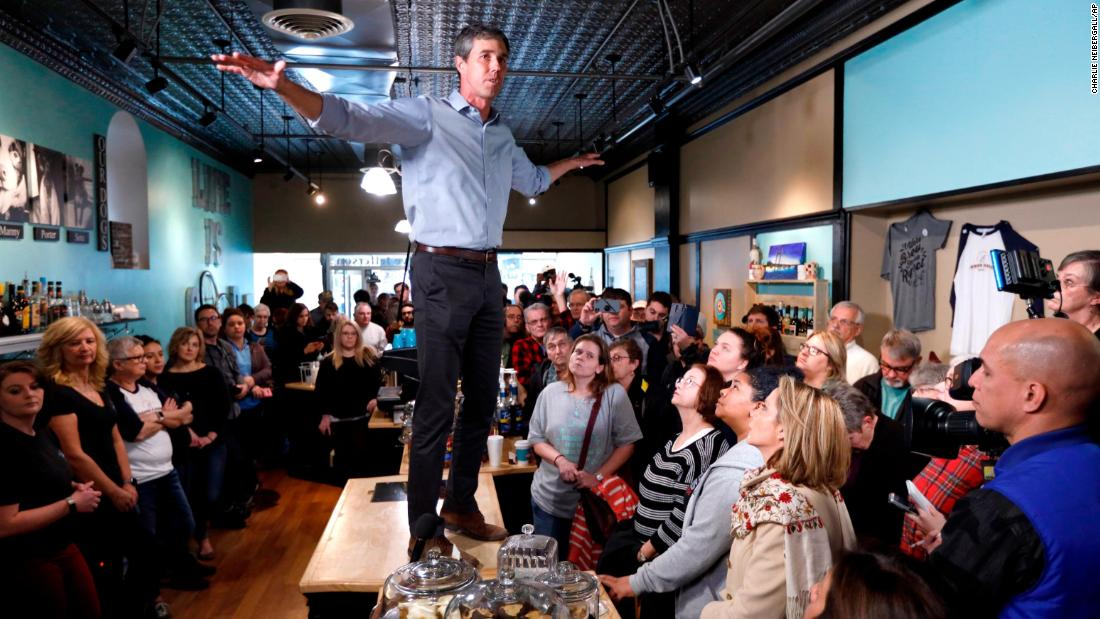 The capitalist economic situation he calls 'racist' has actually dealt with Beto O'Rourkequite possibly