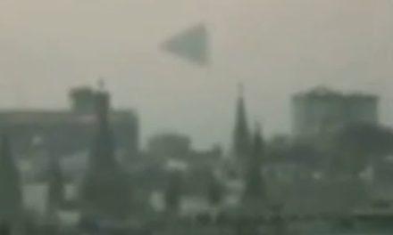 UAP Pyramid over Kremlin 2009