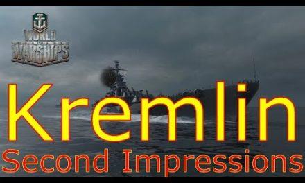 World of Warships- Kremlin Second Impressions