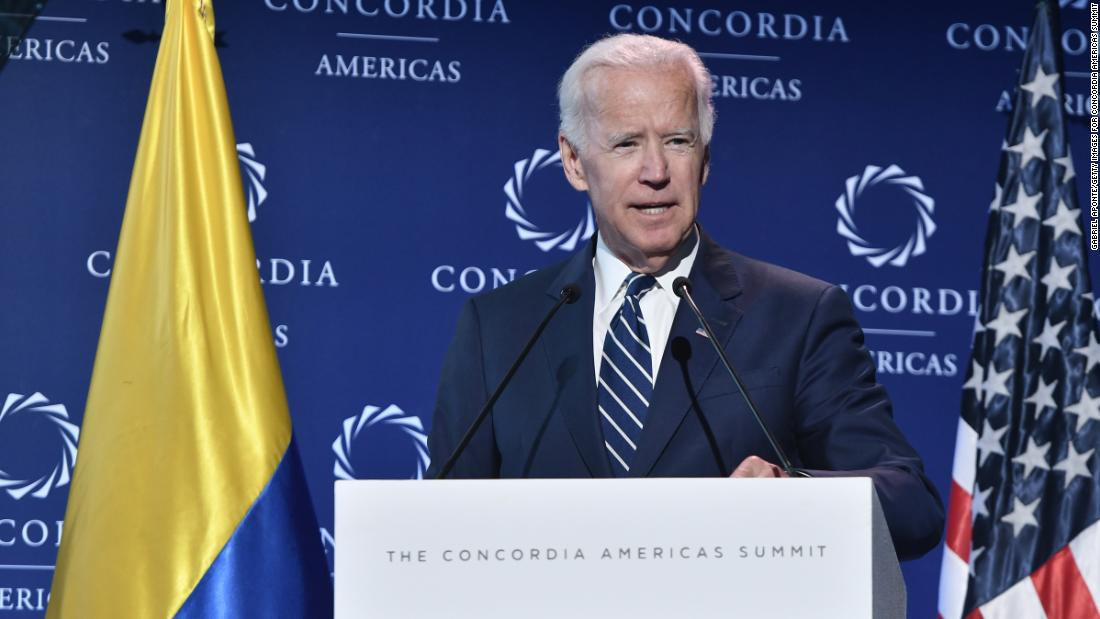 Biden claims United States must continue to be fully commited to its allies abroad