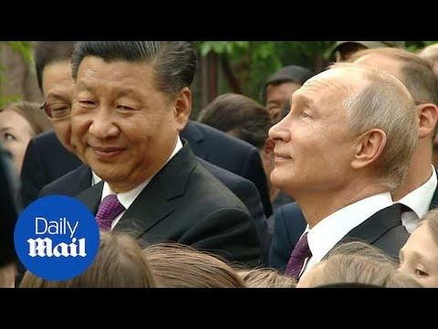 Putin as well as Xi appreciate pandas in Moscow zoo