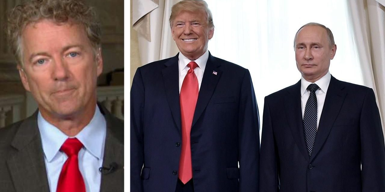 Rand Paul sides with Trump on Russia, claims movie critics 'inspired' by loathing of chairwoman