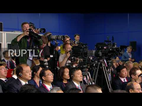 Russia: Putin as well as Xi talk service at SPIEF 2019
