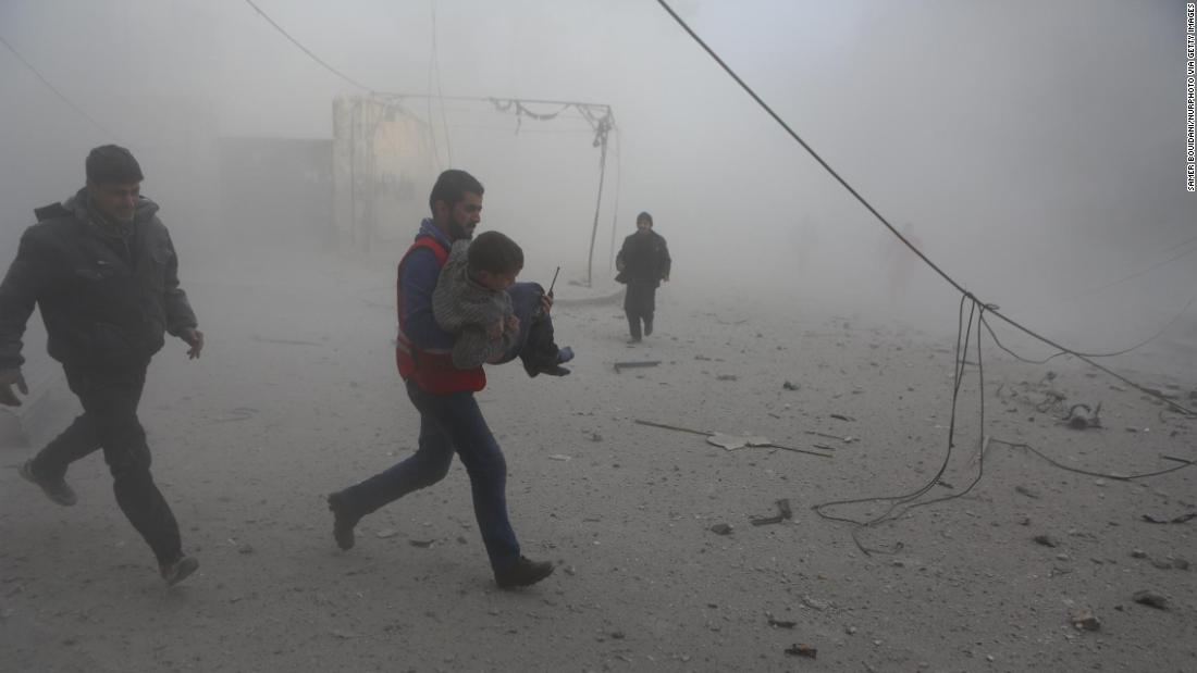 More than 200 private citizens eliminated in Syrian airstrikes over 4 days, team claims
