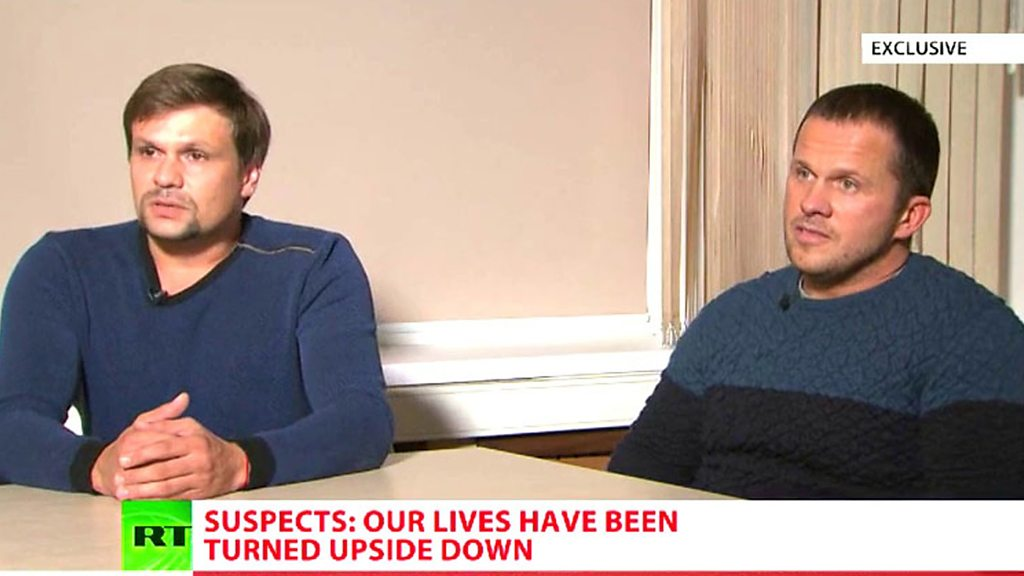 Skripal suspects' vacationer asserts 'offending'