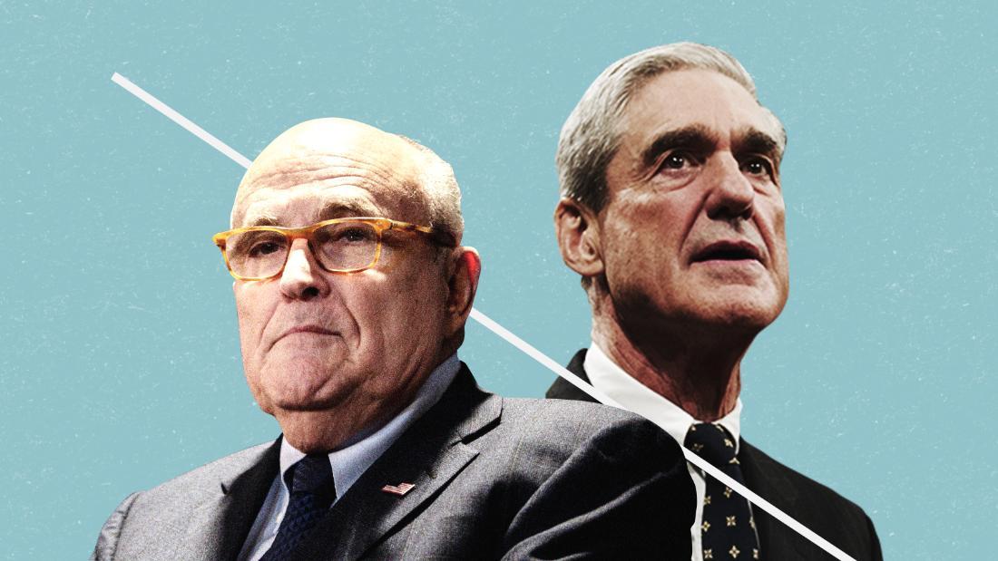 Giuliani states Mueller group 'providing us the product' to weaken examination