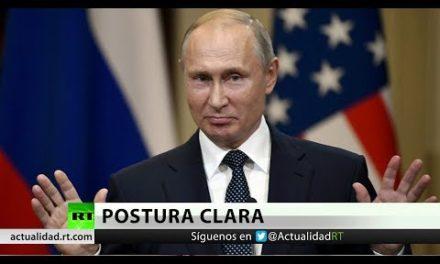 """Putin: """"""""Esperaremoshasta que EE.UU. madure para el diálogo"""""""""""