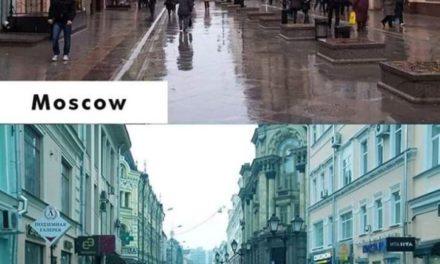 Moskva v Amerikanskikh fil'mov