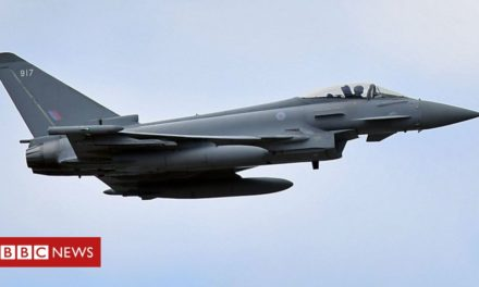 RAF intercepts Russian aircraft over Black Sea