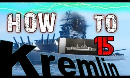 HOW TO KREMLIN – 15 Citadels 373 K DMG|| World of Warships