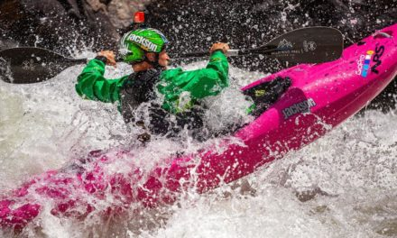 At America's most difficult kayak race, goin' with the quick circulation