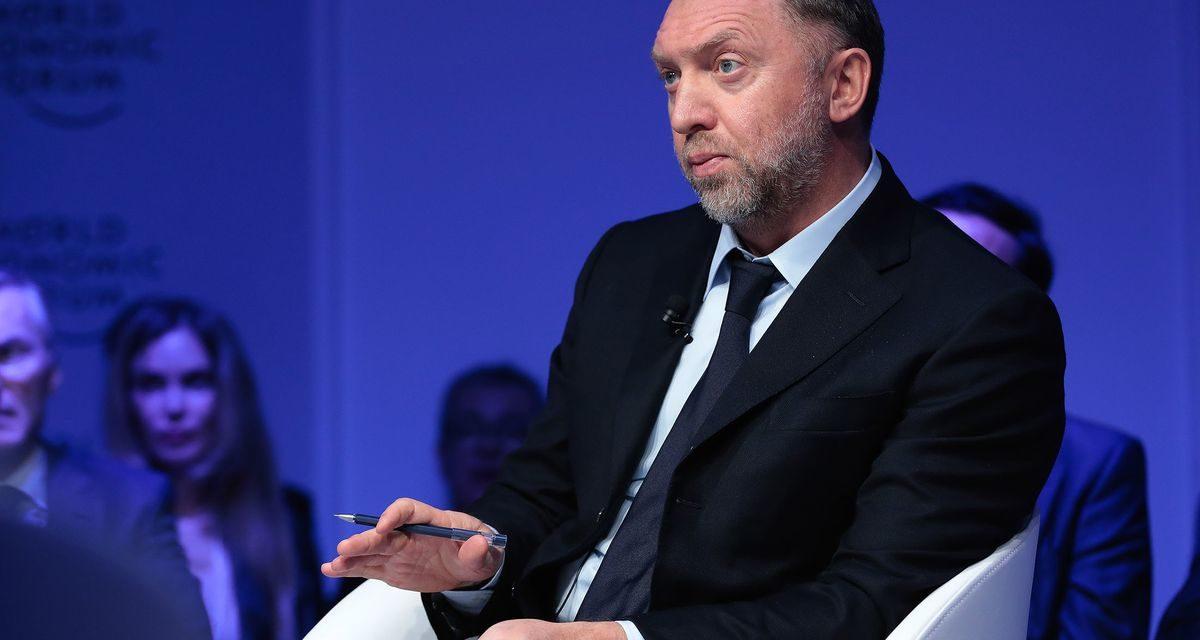 UNITED STATE Sanctions Hit Putin Allies, Including Billionaire Deripaska