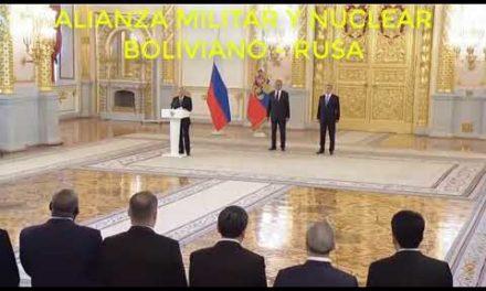 VLADIMIR PUTIN CONFIRMA LA ALIANZA MILITAR CON BOLIVIA