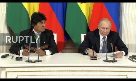 LIVE: Putin and also Morales hold interview in Moscow