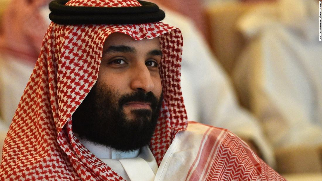 Mohammed container Salman's international rehab is underway