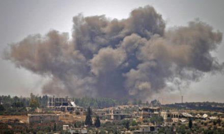 Syrian battle: Tens of thousands run away towards shut boundaries