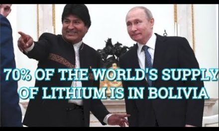 Bolivian President Evo Morales Visits Russia And Agrees Crucial Lithium Deal With Putin!