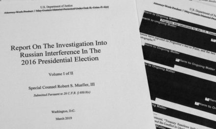 Why front Mueller file most likely is not I recreation changer as electorate