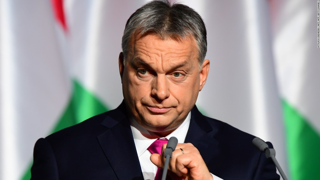 Hungary's Orban warns apropos of antipathy towards immigration access European Parliament Hare system