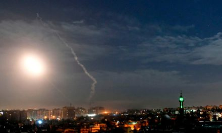 Israel strikes Iranian targets in Damascus after rocket terminated at Golan Heights