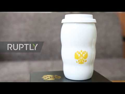 Replica of Putin's G20cup strikes on-line shop to Chinese followers joy