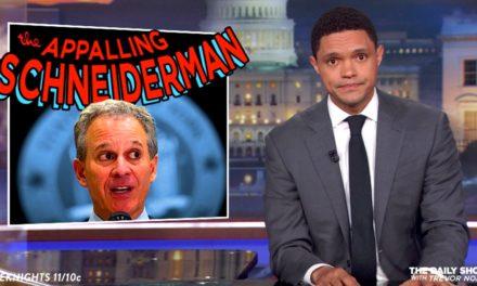 Daily Presents Trevor Noah Goes Off on Freak Ex-AttorneyGeneral Eric Schneiderman