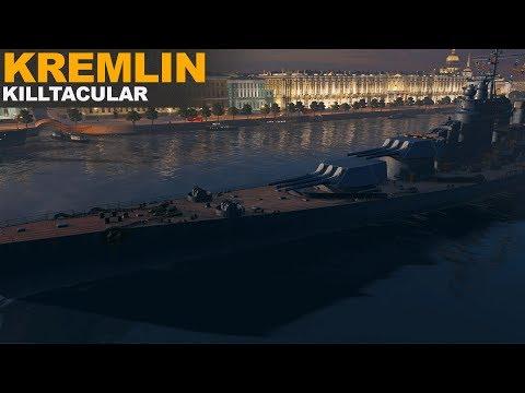 Kremlin Killtacular – World of Warships