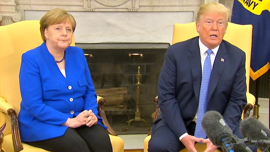 Trump aerates at Merkel as well as requests for suggestions on Putin