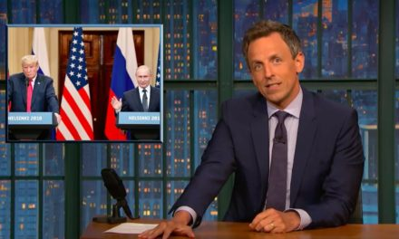Seth Meyers Horrified by Trump-PutinPresser: Most Surreal Presidential Performance in Modern History