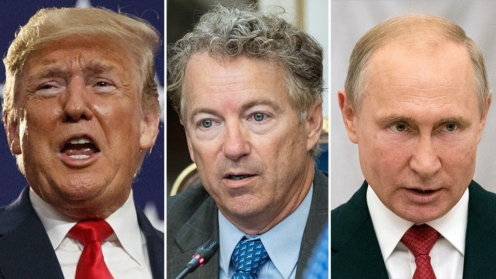 WH presses back after Rand Paul suggests Trump asked him to supply letter to Putin