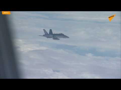 Caccia svizzeri accompagnano l'aereo della delegazione di Putin