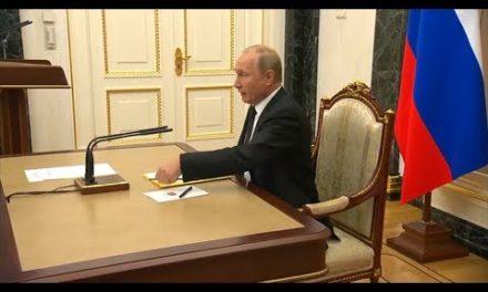 """Vladimir Putin dice que responderá """"recíprocamente"""" a una acción norteamericana"""