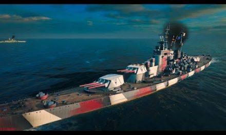 ► NEW ► Kremlin – 329 K DMG – World of Warships Gameplay
