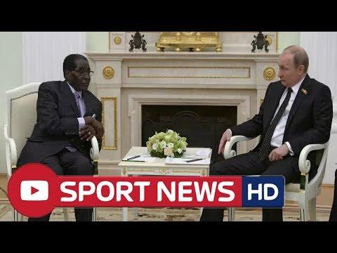 Vladimir Putin ' s fawning declaration after harsh tyrant Robert Mugabe passes away
