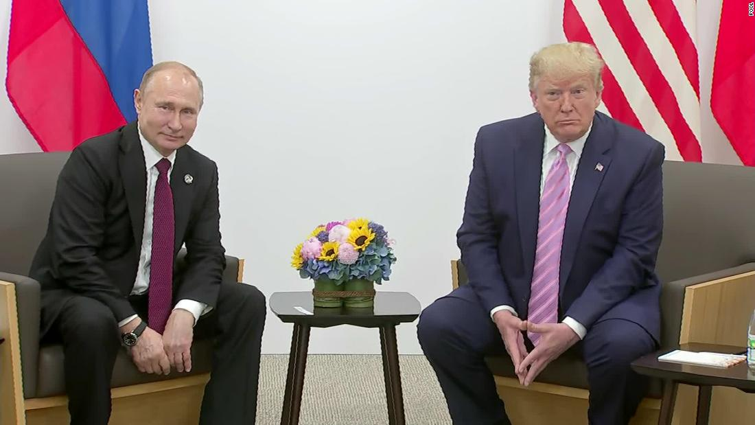 Trump's unusual partnership with Putin is back in the limelight