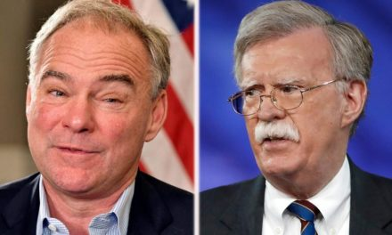Bolton reacts after Tim Kaine concerns safety and security clearance over Russia weapon video clip